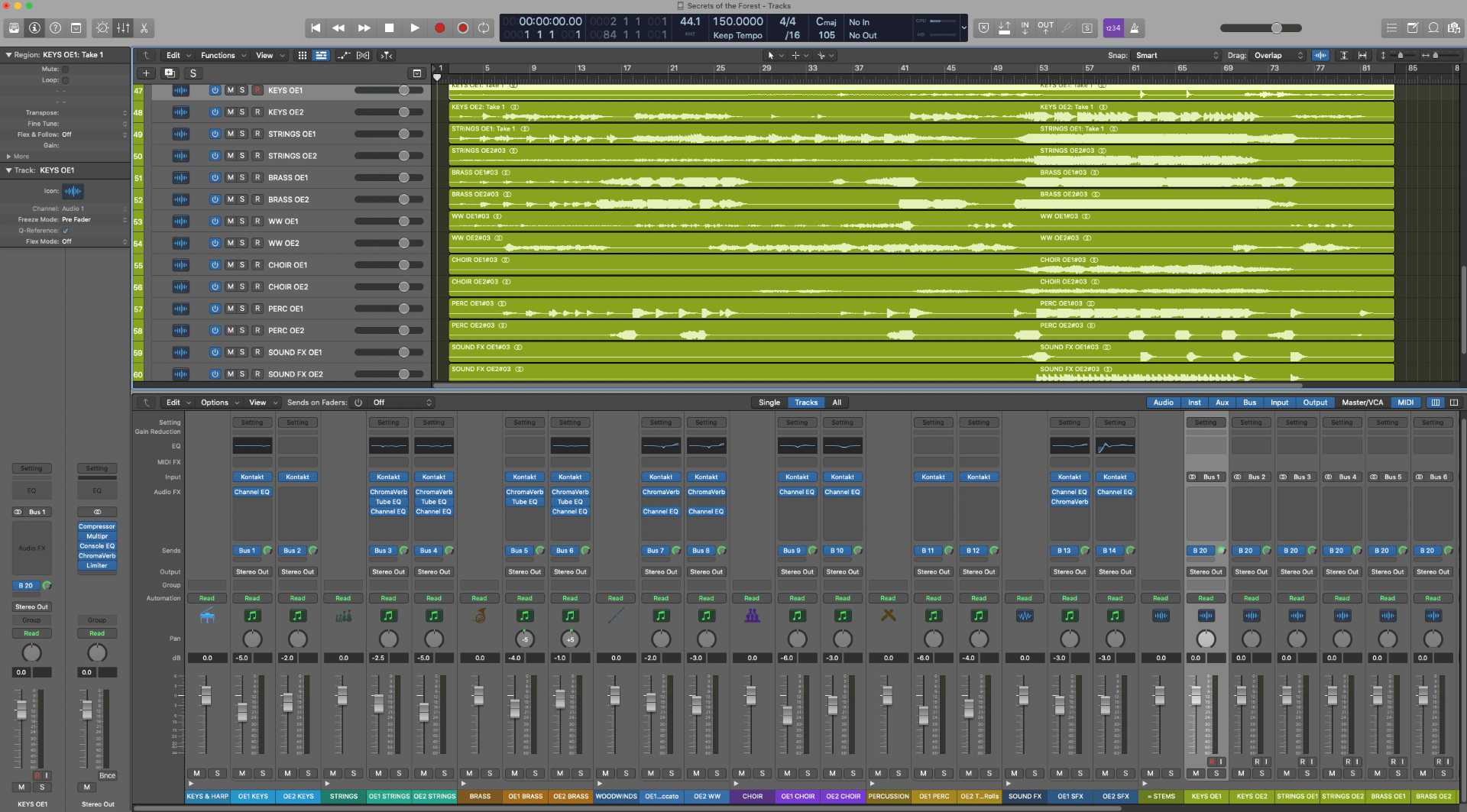 Logic Mix Stems