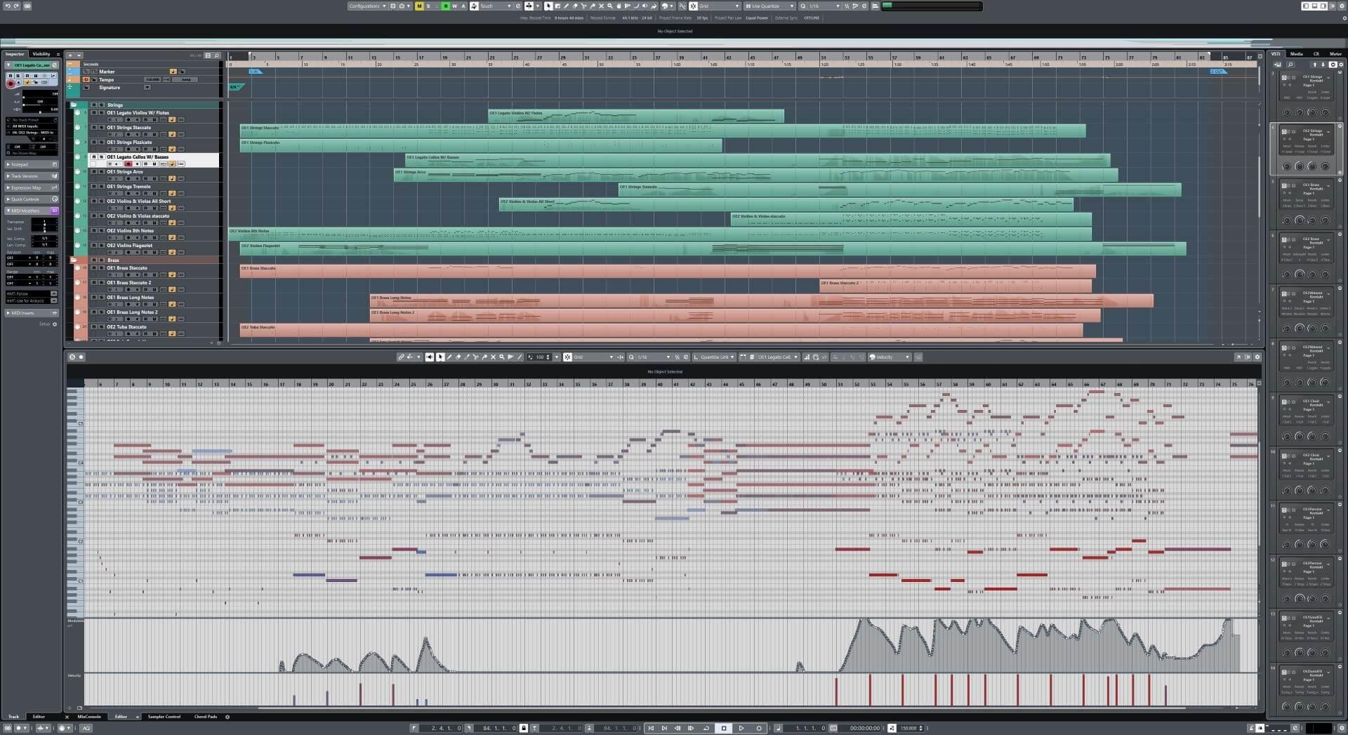 SOTF Cubase 4k MIDI and Arrange