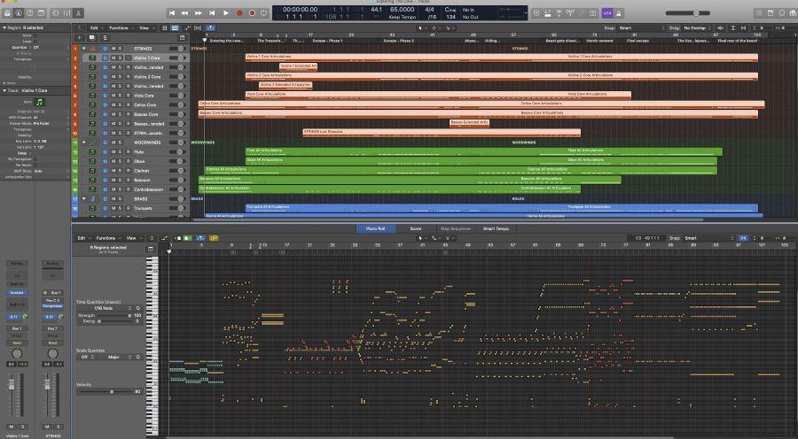 ETC Logic MIDI
