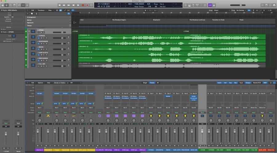TGZB Logic Stems and Mix