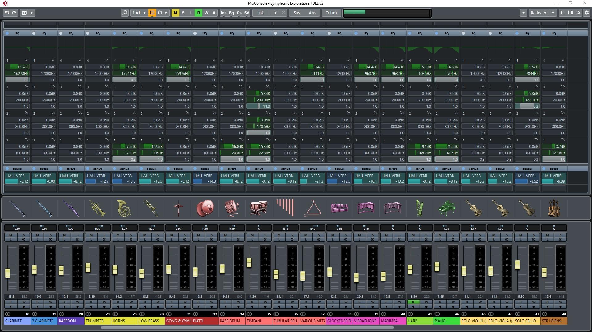 Cubase Mixer v2 1080